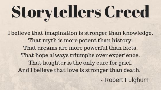 Storytellers Creed