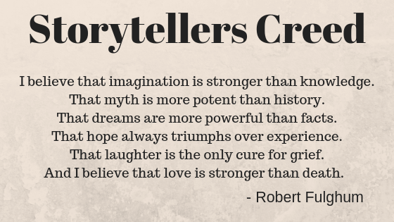 Storytellers Creed