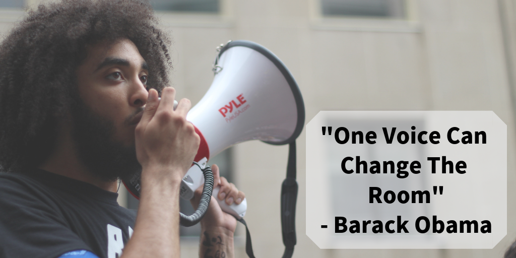 One Voice Can Change The Room_ - Barack Obama